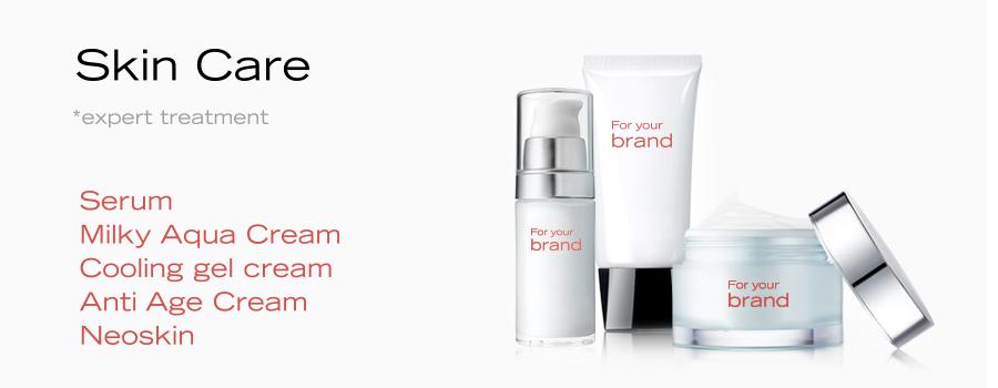 Creams and serums